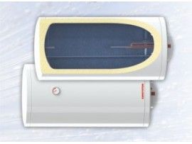 Бойлер Sunsystem BB EL, 100 Л., 2 kW, емайлиран, хоризонтален