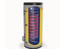 Бойлер ЕЛДОМ стоящ 300 л, 9 kW, две паралелни серпентини, емайлиран
