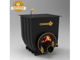 Готварска печка на твърдо гориво Канада 01 стъкло