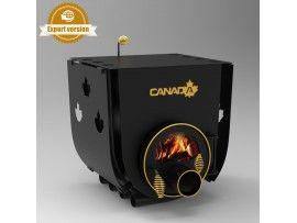 Готварска печка на твърдо гориво Канада 01 стъкло и защита