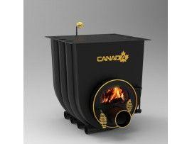 Готварска печка на твърдо гориво Канада 02 стъкло
