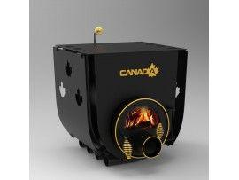 Готварска печка на твърдо гориво Канада 02 стъкло и защита