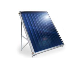 Слънчев колектор Елдом плосък, с алуминиев оребрен абсорбер, 1.5 кв.м